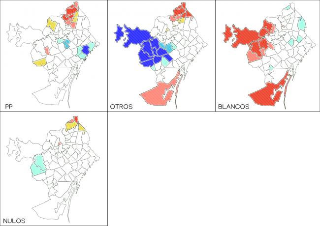 Identificación de hotspots y coldspots electorales
