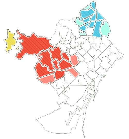 Identificación de hotspots y coldspots