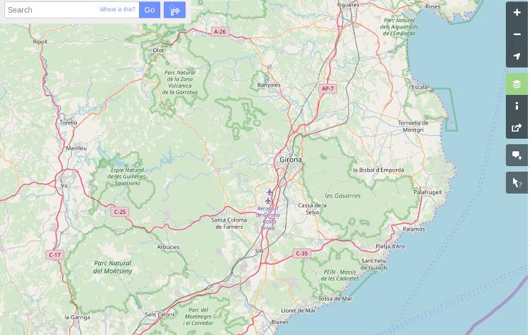 Cartografía de referencia de OSMN