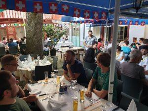 La cena de Geopython 2019