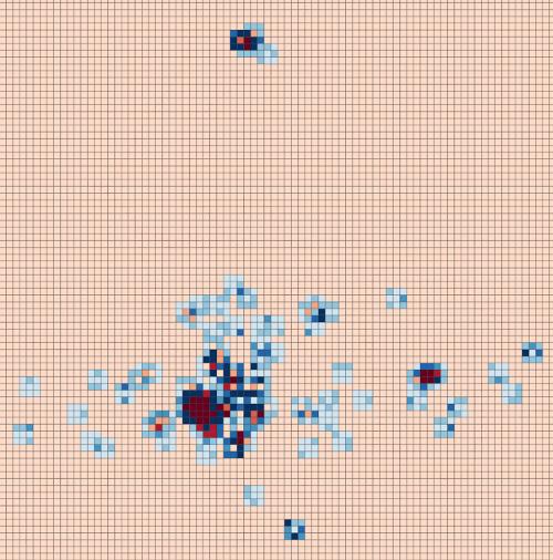 Identificación de clústeres y outliers a través del índice I Local de Moran con Visualist.